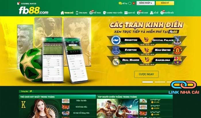 trang web nhà cái thể thao
